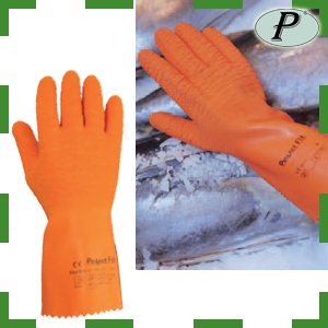 Guantes de látex con soporte Perfect Fit