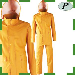 Trajes de agua amarillos de poliuretano