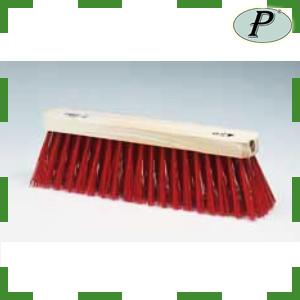 Barrenderos fibra plástica roja 43 cm