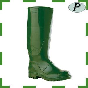 Botas de agua verde alta PVC modelo 100