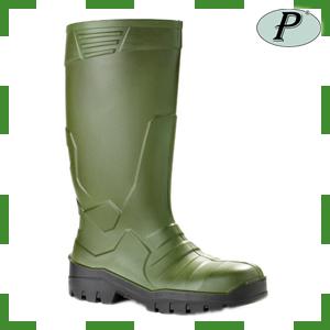Botas de poliuretano Prado 720 verde-marrón