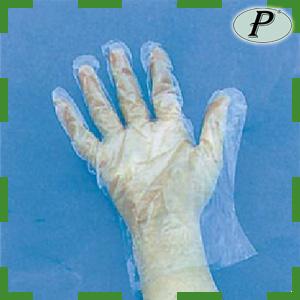 Guantes plástico polietileno desechables