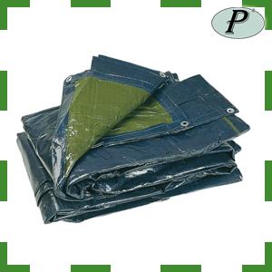 Lonas de polietileno trenzado bicolor