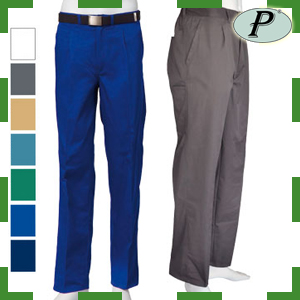 Pantalones laborales multibolsillos