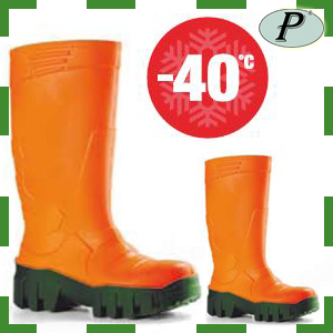 Botas de agua para frío extremo -40 grados