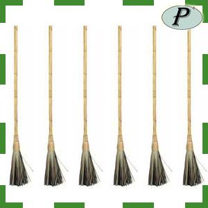 Escobas fibra vegetal planas - Escobas de palma ...