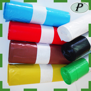 Bolsas de basura de plástico resistentes