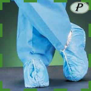 Cubrezapatos de polipropileno desechables azul, blanco, verde