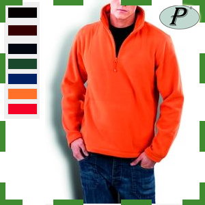 Forro polar color naranja