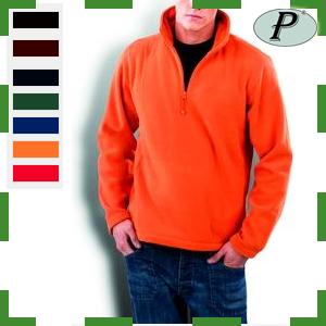 Forro polar color naranja