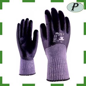 Guantes 3L mano cubierta doble capa de nitrilo