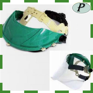 Pantallas de protección con visor