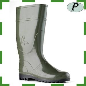 Botas de agua PVC Foca verde oliva