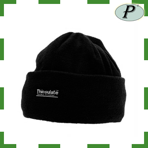 Gorros forro polar negros Thinsulate