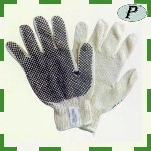 Guantes de algodón con puntos de agarre