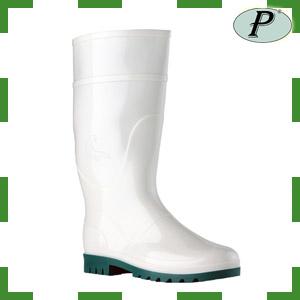 Botas de agua blancas Rain alimentaria