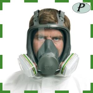 Máscara completa 3M de protección respiratoria