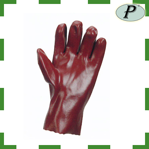 Guantes PVC rojo 27cm Actifresh 111537