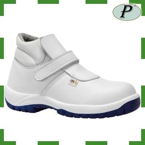 Botas de seguridad blancas