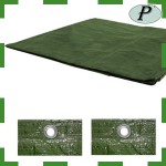Lona verde impermeable