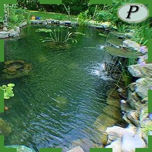 Planas estanque de agua jardin lona epdm - Estanque de jardin ...