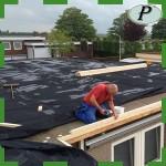 Terraza impermeable con lamina lona EPDM