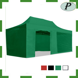 Carpa plegable con laterales 3x6