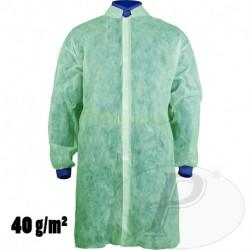 Bata de polipropileno verde