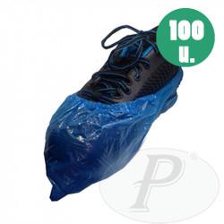 Cubrezapatos de polietileno resistentes