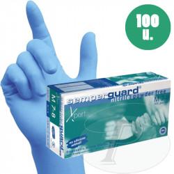 Guantes de nitrilo azul SEMPERGUARD XPERT