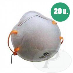 Mascarillas desechables respiratorias FFP1