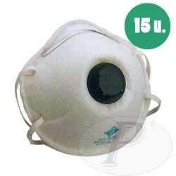 Mascarillas desechables FFP2 con valvula