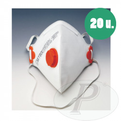 Mascarillas respiratorias plegables FFP1