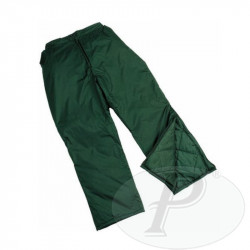 Pantalones acolchados verdes 1705