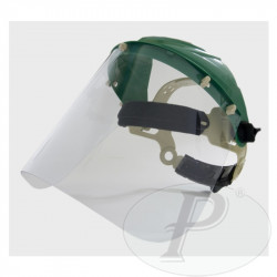 Pantallas de protección con visor policarbonato