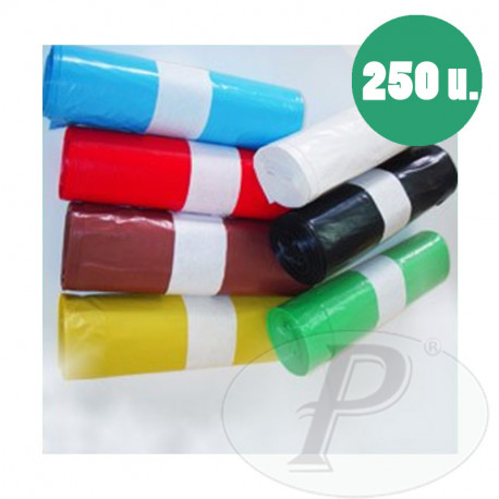 Sacos para basura industriales de plástico