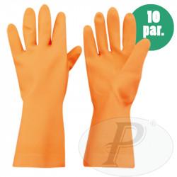 Guantes industriales gruesos naranjas