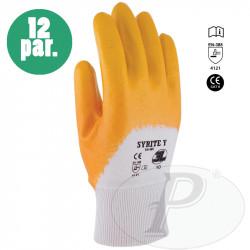 Guantes 3L de nitrilo amarillo ligero
