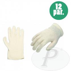 Guantes intelock algodón  crudo con puño elástico modelo CO-131
