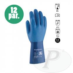Guantes de nitrilo Superken 30 soporte algodón