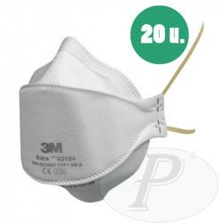 Mascarillas respiratorias 3M 9310 plegables FFP1