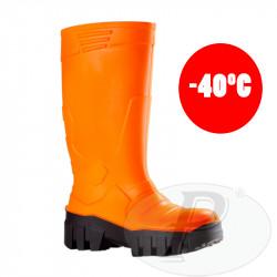 Botas de agua de seguridad naranjas Iglu