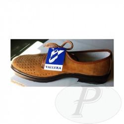 Zapatos serraje picado Vallera