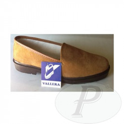 Mocasines serraje marrón Vallera