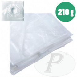 Toldos traslúcidos impermeables de 210 gr