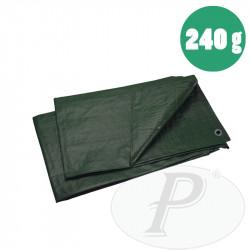 Toldo verde oscuro 240 gramos