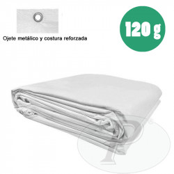 Toldo impermeable blanco 120 gramos