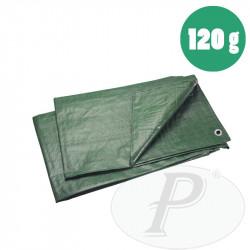 Toldos de rafia polietileno verdes 120gr