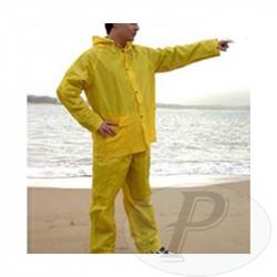 Trajes de agua PVC amarillo
