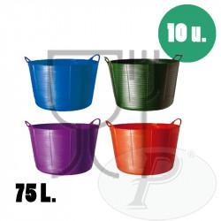 Cubo para uso alimentario de 75 litros